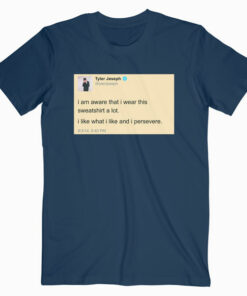 Tyler Joseph Tweet Twenty One Pilots Band T Shirt
