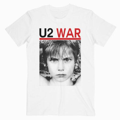 U2 War Band T Shirt