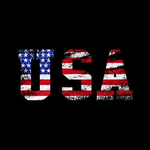 USA T-Shirt Patriotic 4th of July Tee American Flag Vintage T-Shirt