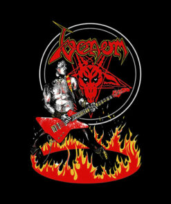 Venom Band T Shirt