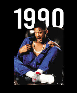 Will Smith Air Jordan 1990 T Shirt