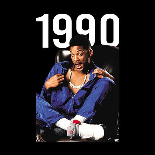 Will Smith Air Jordan 1990 T Shirt