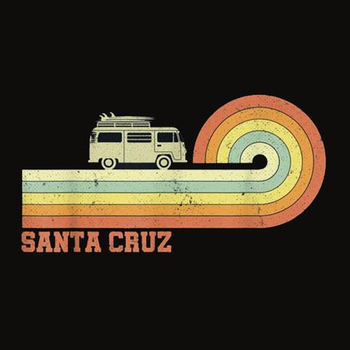 70s 80s CA Santa Cruz T Shirt