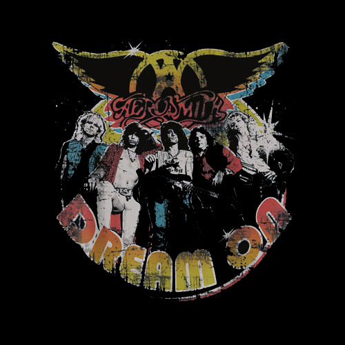 Aerosmith Dream On Portrait Band T Shirt