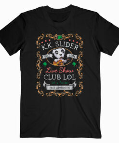 Animal Crossing KK Slider Live Show Poster Graphic T Shirt
