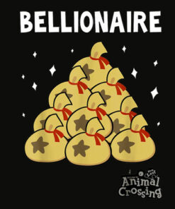 Animal Crossing New Leaf Bellionaire Graphic T Shirt