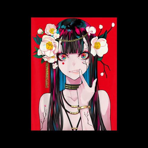 Anime Girl Japanese Aesthetic Anime Otaku Gift T-Shirt