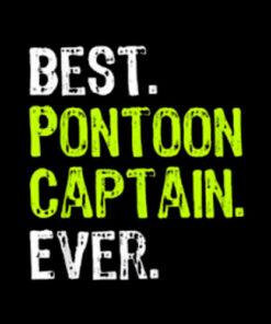 Best Pontoon Captain Ever T Shirt