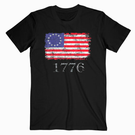 Betsy Ross Shirt 4th Of July American Flag Tshirt