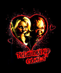 Child's Play Chucky And Tiffany Relationship Goals T-Shirt