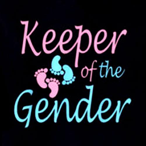 Cute Keeper of Gender shirt