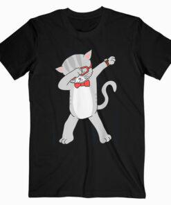 Dabbing Cat Funny Dab Gift Cat T-Shirt