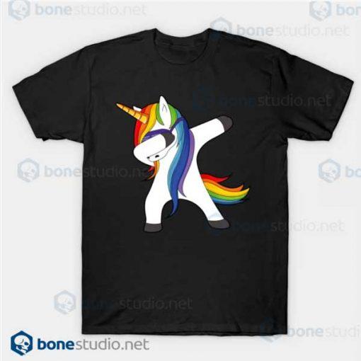 Dabbing Unicorn T Shirt Unicorn Dab Black T Shirt
