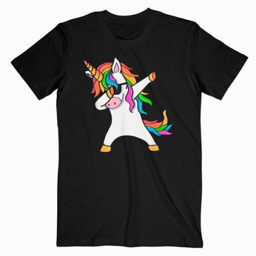 Dabbing Unicorn T Shirt Unicorn Dab T Shirt