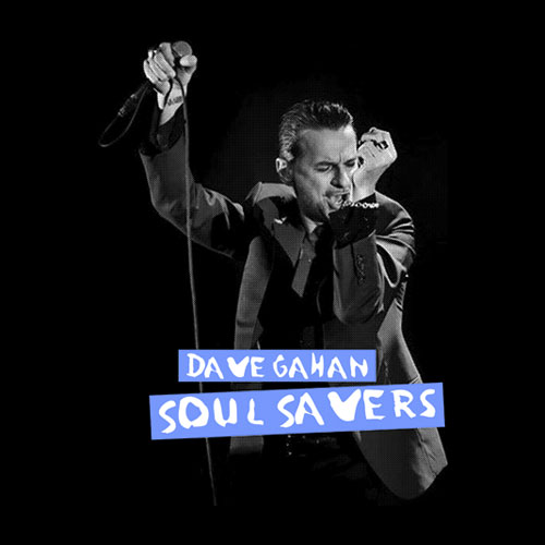 Depeche Mode Dave Gahan Soul Saver Band T Shirt