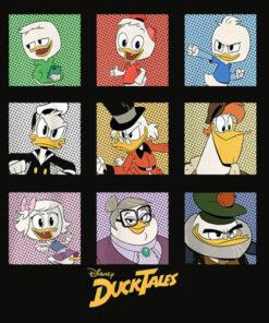 Disney DuckTales Group Shot Box Up T Shirt