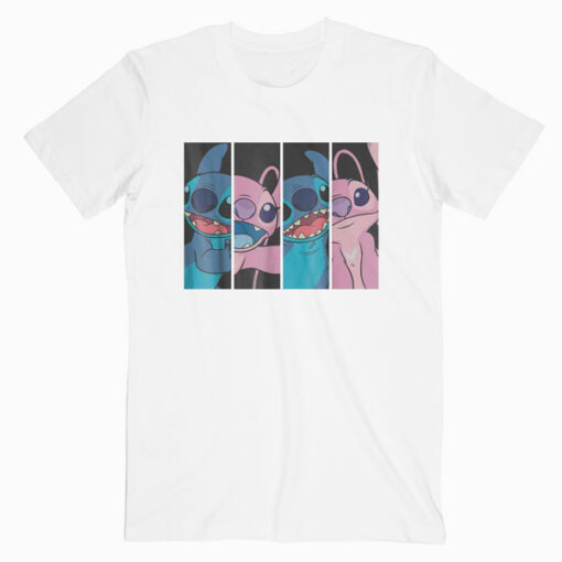 Disney Lilo and Stitch Boxed Faces T-shirt