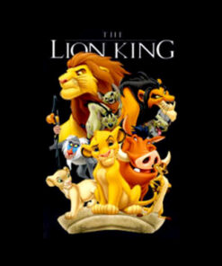 Disney Lion King Pride Land Characters Graphic T Shirt