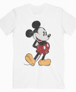 Disney Mickey Mouse Classic Small Pose T Shirt