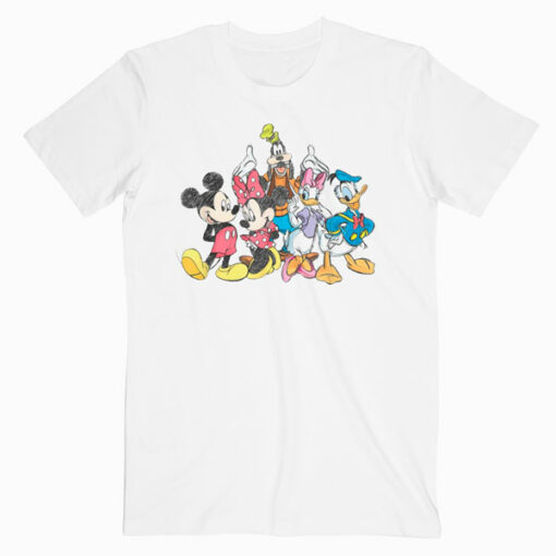 Disney Mickey Mouse and Friends T Shirt