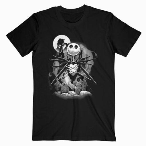 Disney Nightmare Before Christmas Jack Night Scene T-Shirt