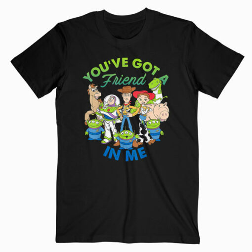 Disney Pixar Toy Story Cartoon Group Shot Graphic T-Shirt