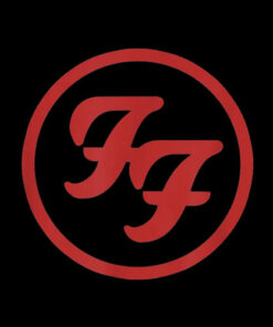 Foo Fighters Red Circle Logo Band T-Shirt