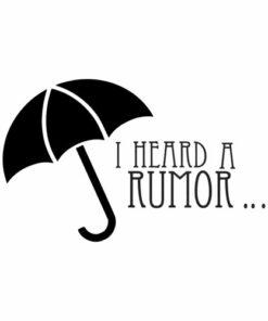 Funny I Heard A Rumor Academy Shirt