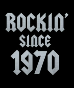 Gift for 50 Year Old Classic Rock 1970 50th Birthday T-Shirt