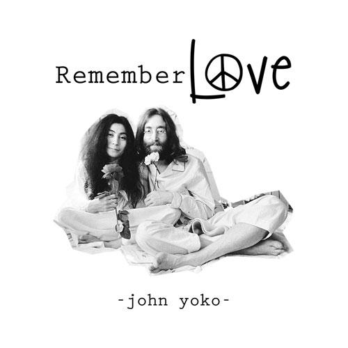 John Lennon And Yoko Remember Love Band T Shirt