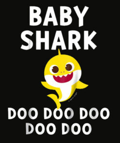 Kids Pinkfong Baby Shark Official T shirt