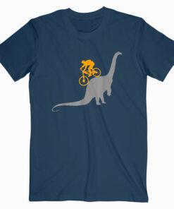 MTB Dinosaur Dino Bike Mountain Bicycle Sport T-Shirt