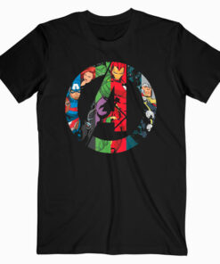 Marvel Avengers A Logo T Shirt