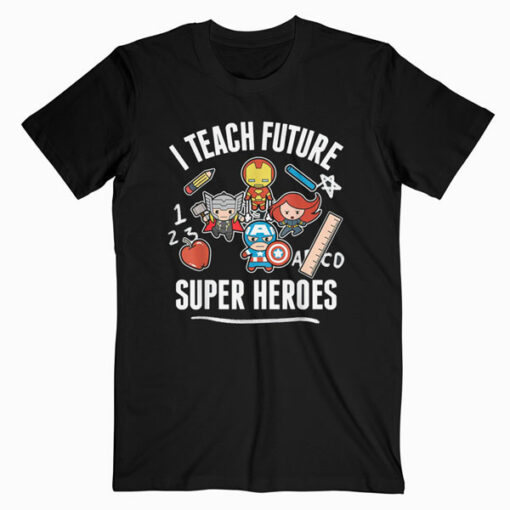 Marvel Avengers Classic I Teach Super Heroes Graphic T-Shirt