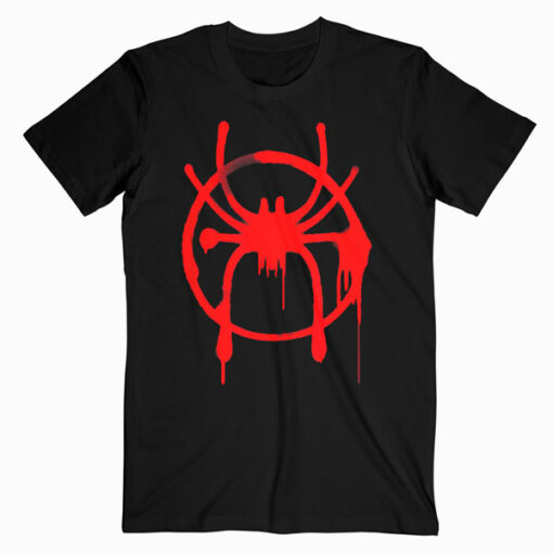 Marvel SpiderMan Into the Spider Verse Red Icon T Shirt