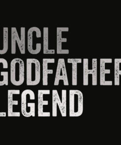 Mens Uncle Godfather Legend Funny Shirt