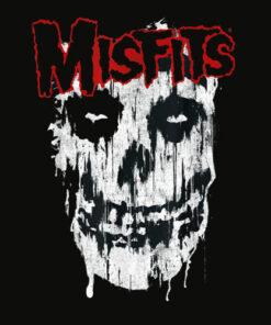 Misfits Splatter Band T Shirt