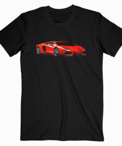 Modern Italian Sports Car Super Exotic Race European T-Shirt