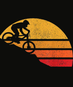 Mountain Bike Vintage MTB Downhill Biking Cycling Biker Gift T Shirt