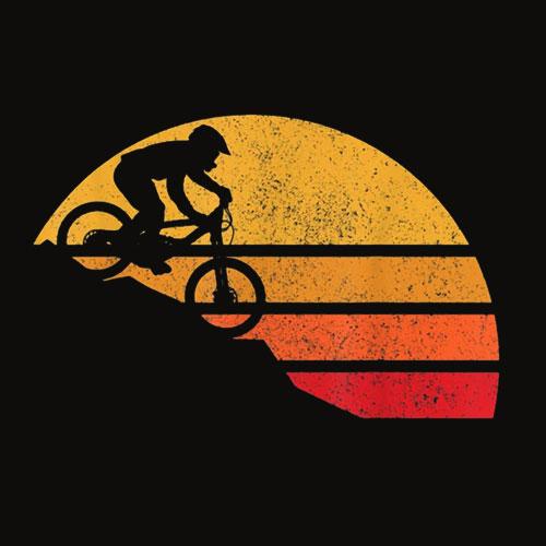 Mountain Bike Vintage MTB Downhill Biking Cycling Biker Gift T Shirt