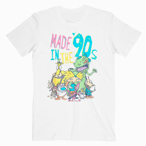 Nickelodeon Made In the 90s Character T Shirt