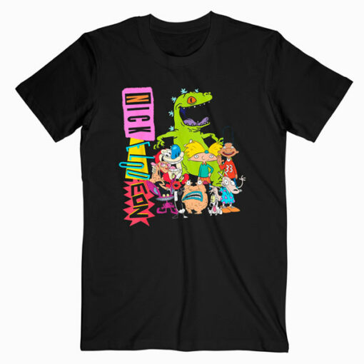 Nickelodeon Throwback Retro Character T Shirt