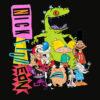 Nickelodeon Throwback Retro Character T Shirt