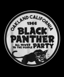 Oakland California 1966 Black Panther Party Tshirt