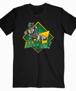 Power Rangers Green Ranger Character T Shirt bl
