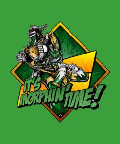 Power Rangers Green Ranger Character T-Shirt