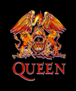 Queen Official Classic Crest Band T-Shirt