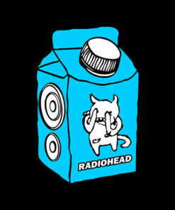 Radiohead Milk Band T Shirt