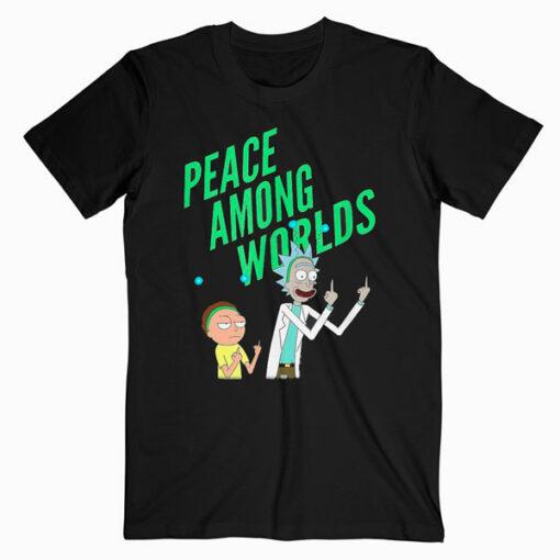 Rick and Morty Peace Among Worlds Portal T shirt