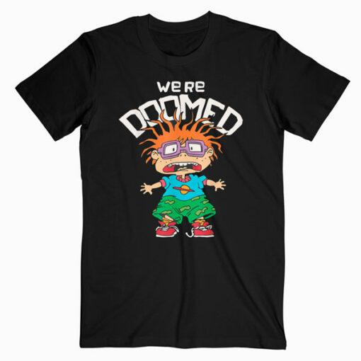 Rugrats Chuckie We're Doomed T-Shirt